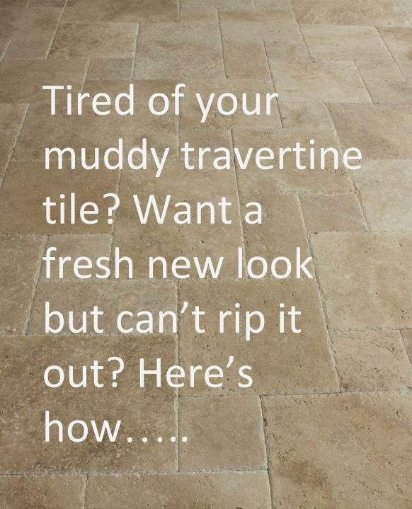 Travertine Floors Learn How To Update Their Look Designed