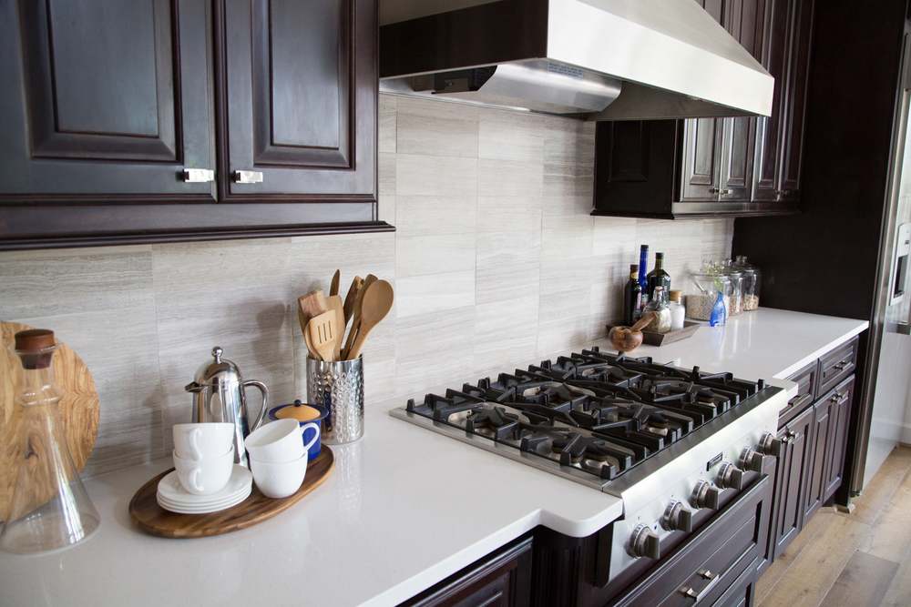 kitchen remodel; stove; cabinetry | Interior Designer: Carla Aston / Photographer: Tori Aston