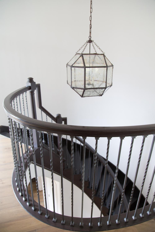 spiral staircase | Interior Designer: Carla Aston / Photographer: Tori Aston