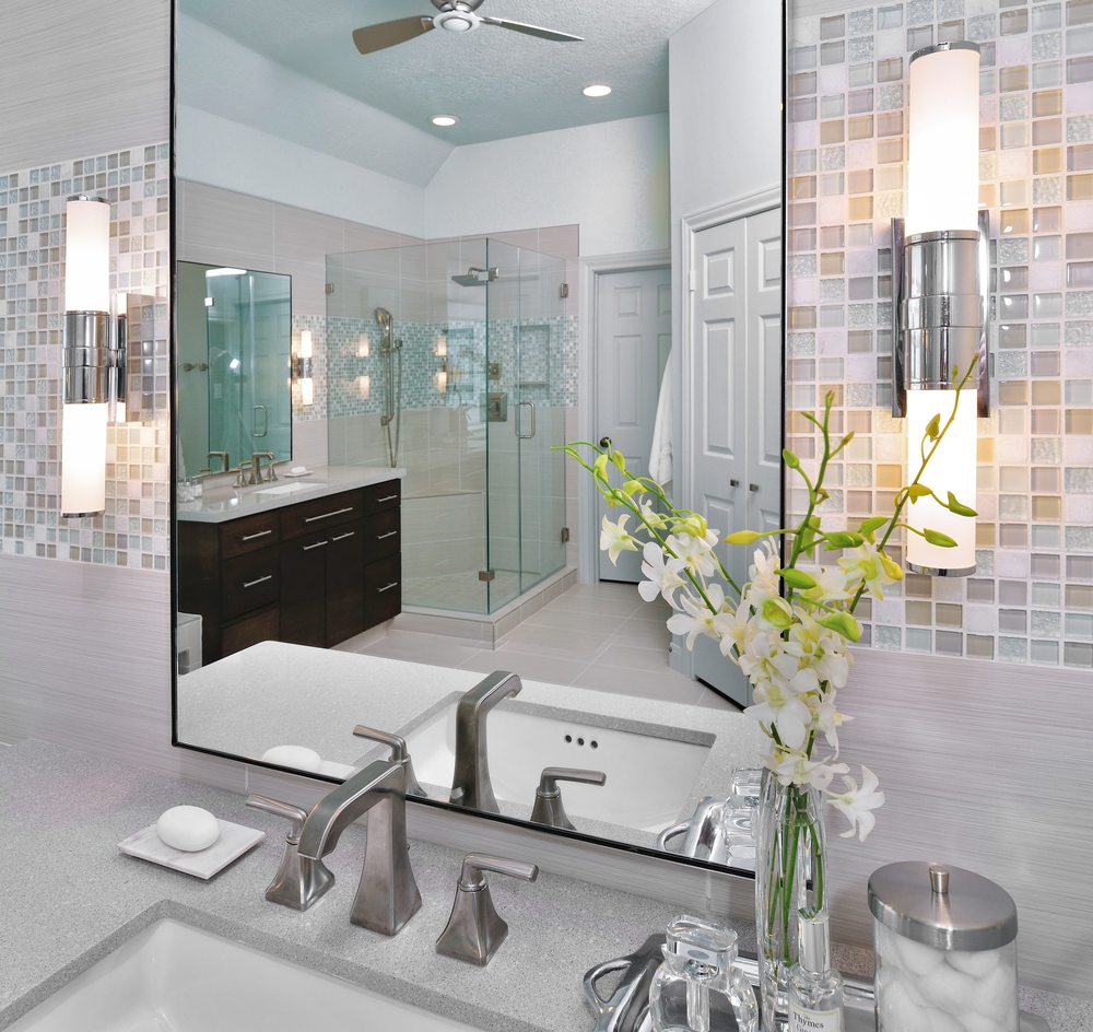Bathroom remodel, Designer: Carla Aston