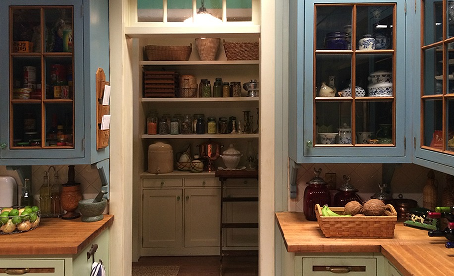 """Bloodline"" house; kitchen; cabinetry 