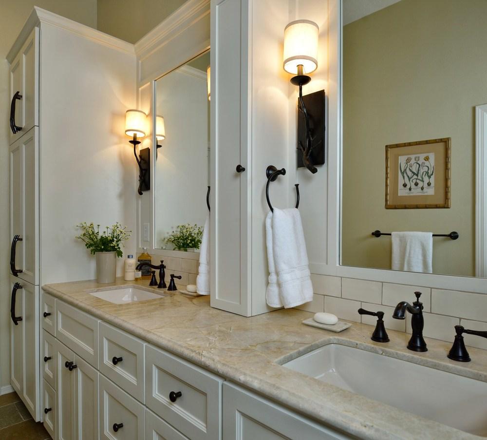 Master bathroom remodel, Designer: Carla Aston