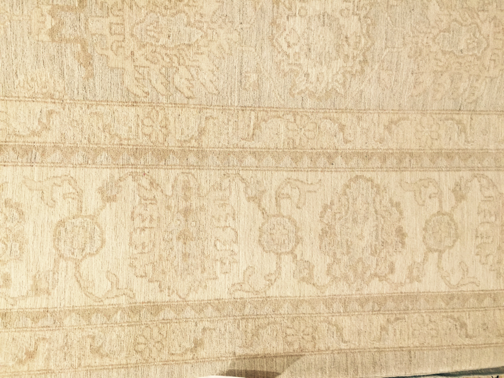 FOR SALE: One Oushak rug @ a discounted price of $5,000 | Click through for details!