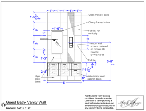 Bathroom Sconces Placement bathroom sconces: where should they go? — designed