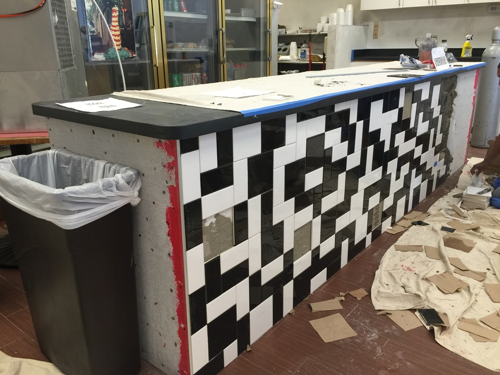 Tile counter view