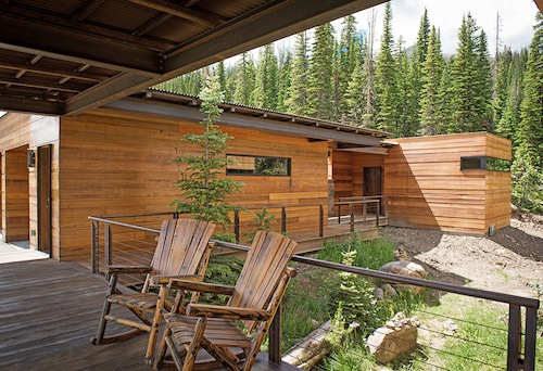 MUST-SEE: Modern Yellowstone Club Home Lets You Taste the Good Life for $6.9 Million > http://ski.curbed.com/archives/2015/09/modern-yellowstone-club-home-wants-69-million.php — This place is so fab. And if you ask me… It ought to be selling for $6.9 million. However, the hot tub perch, the walkway with the rockers, the oversized art with the eagle… it definitely celebrates the views. Take a look. | Interior Designer: Pearson Designs