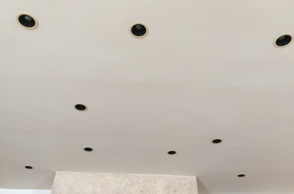Lighting; recessed light; can lights; ceiling