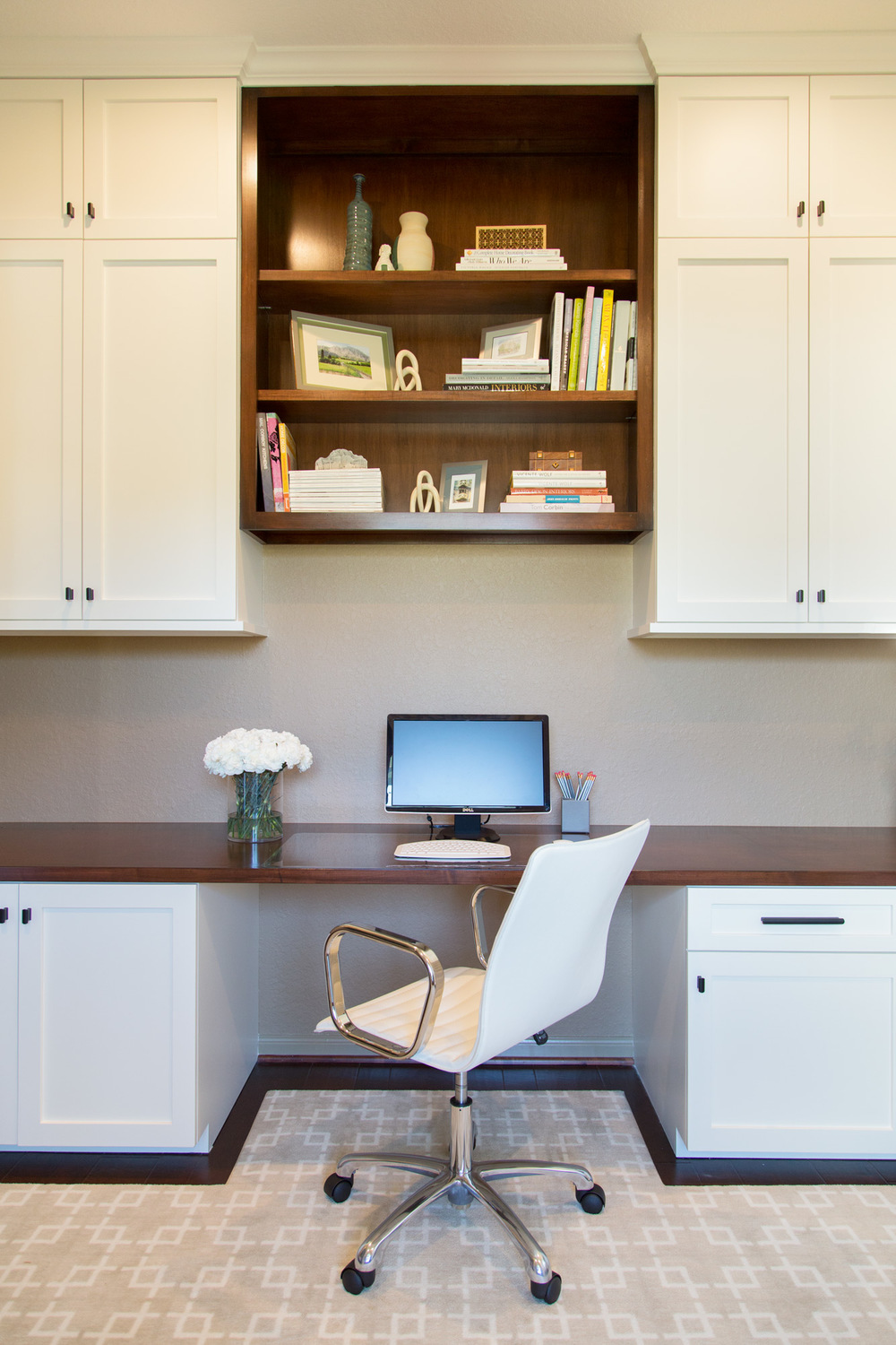 Home Office Makeover, Designer: Carla Aston