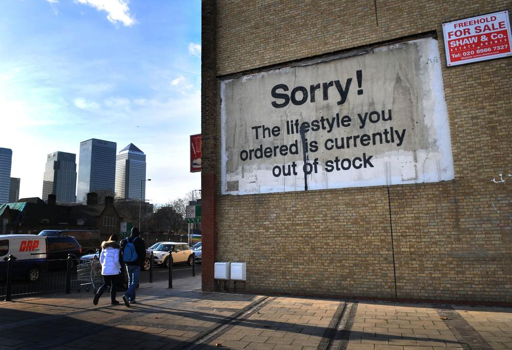 Artist: Banksy | Image source: Popsugar