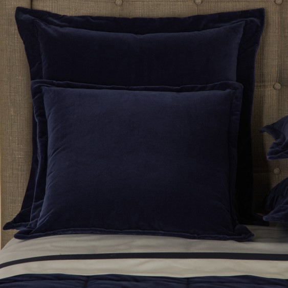 Available @ Frette.com: Velvet Moonlight Decorative Pillow | Click here to purchase!