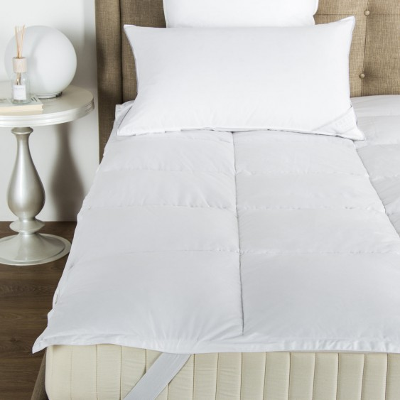 Available @ Frette.com: Cortina Down Mattress Topper |  Click here to purchase!
