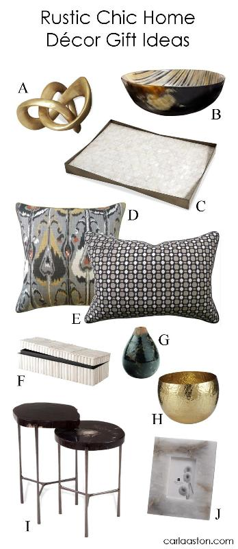 10 Must-Have Rustic Chic Home Decor Gifts!