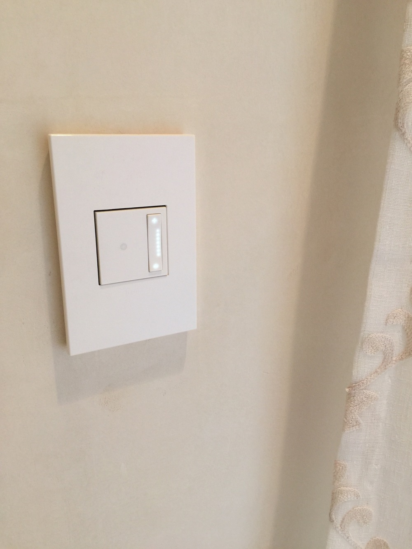 Legrand Adorne cream colored switch