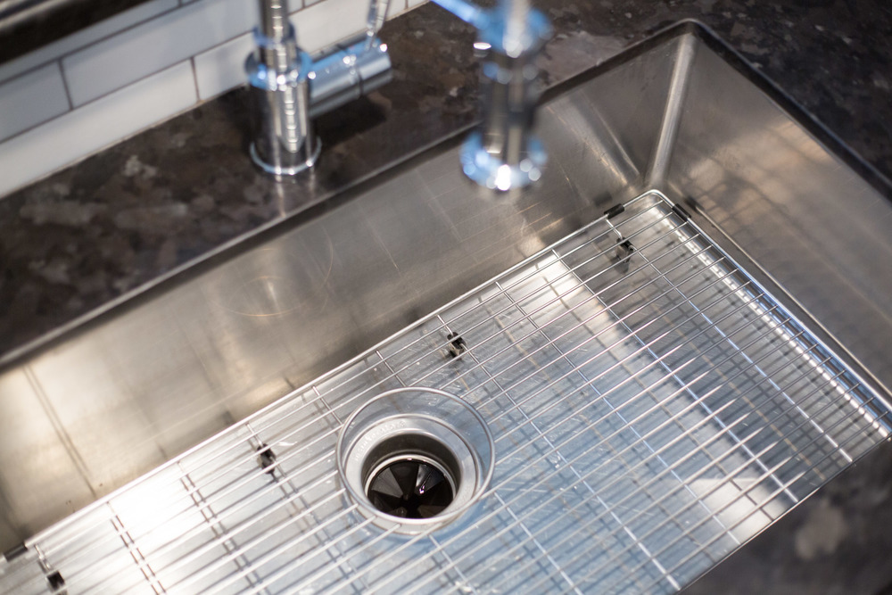 Blanco stainless sink and faucet | interior Designer: Carla Aston / Photographer: Tori Aston