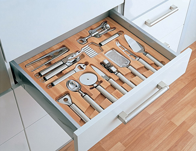 Specialty drawer | Image source: Remodelista