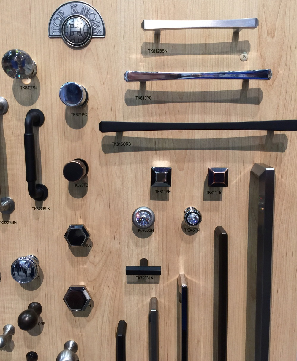 Top Knobs cabinet pulls