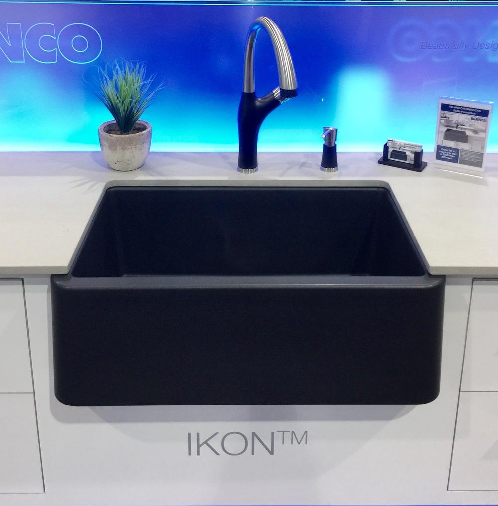 Attirant Blanco Silgranit Ikon Sink