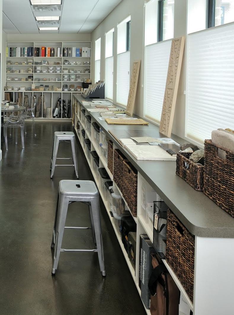 Carla Aston's design studio | Photographer: Milo Dvorscak