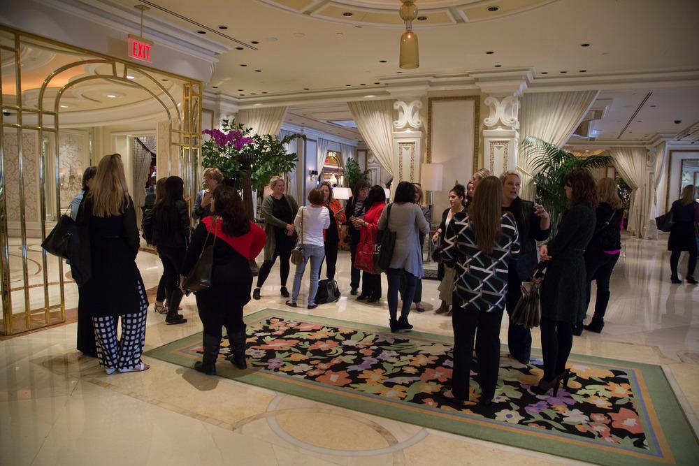 Wynn Hotel lobby  | Photographer: Tori Aston