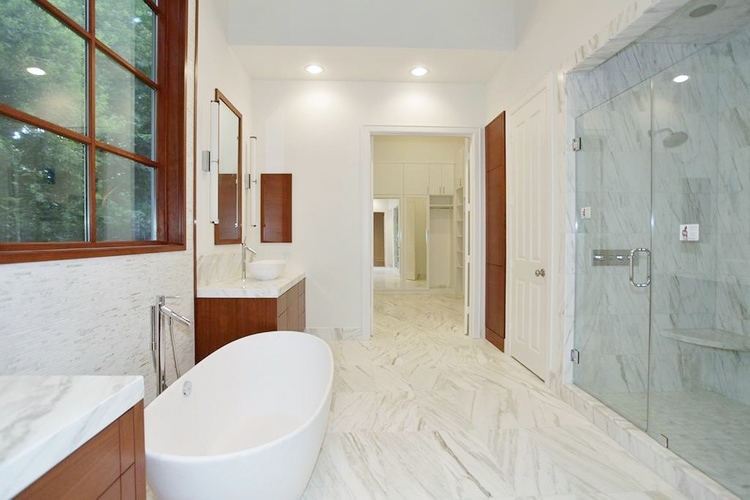 After - Contemporary Bathroom - Overall | Interior Designer: Carla Aston