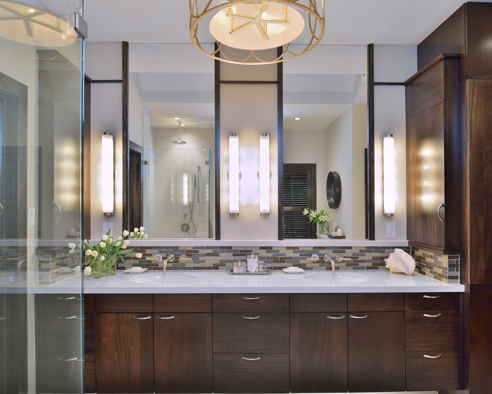Bathroom Remodel |Designer:Carla Aston /Photographer:Miro Dvorscak