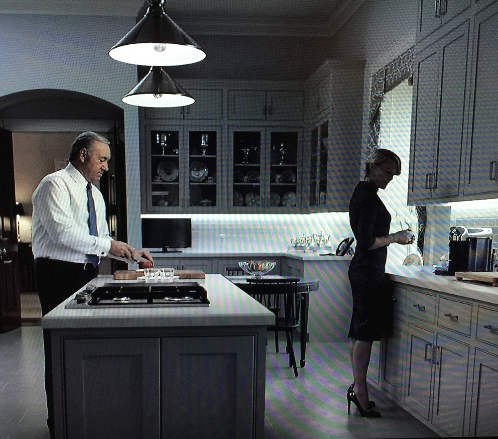 "Where to end a backsplash | Image source: ""House of Cards"""