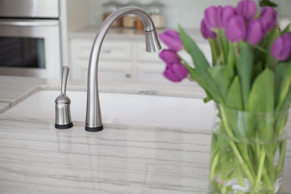 Sink and faucet, Kitchen Remodel - Carla Aston, Designer - Tori Aston, Photographer