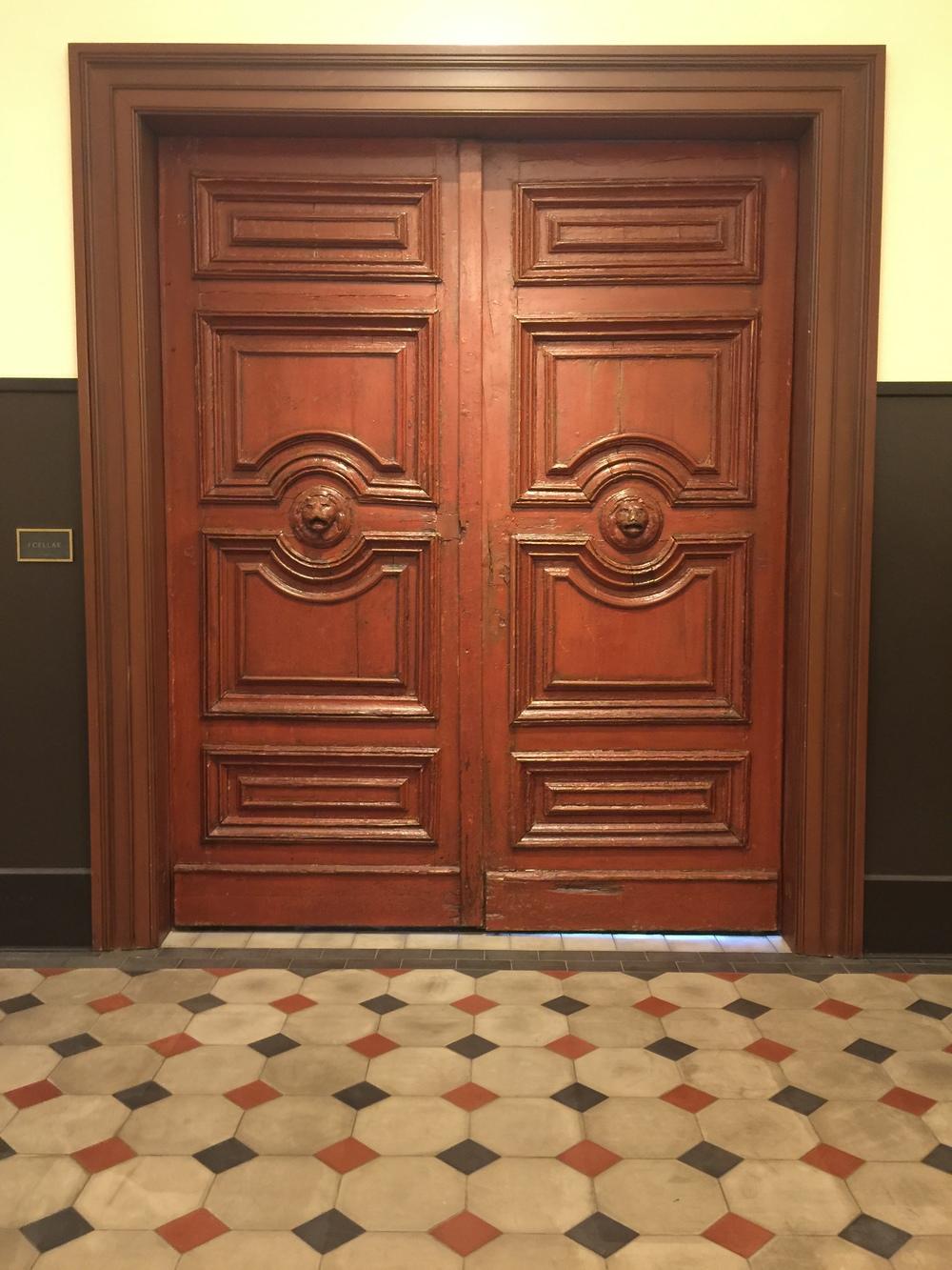 Antique doors - Hotel Emma