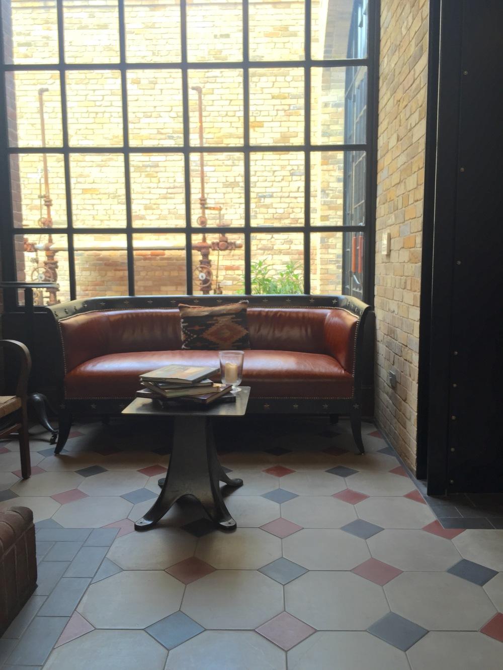 Lobby seating - Hotel Emma