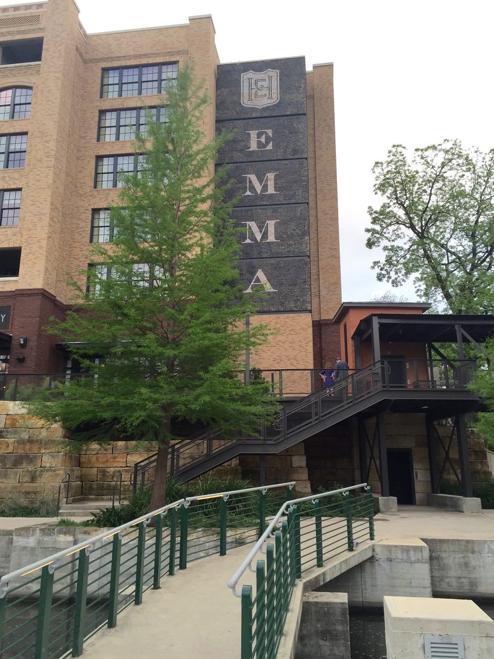Exterior by the riverwalk -  Hotel Emma