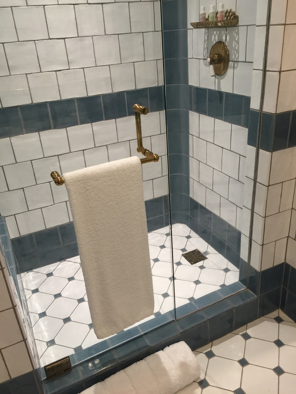 Bathroom Details - Hotel Emma