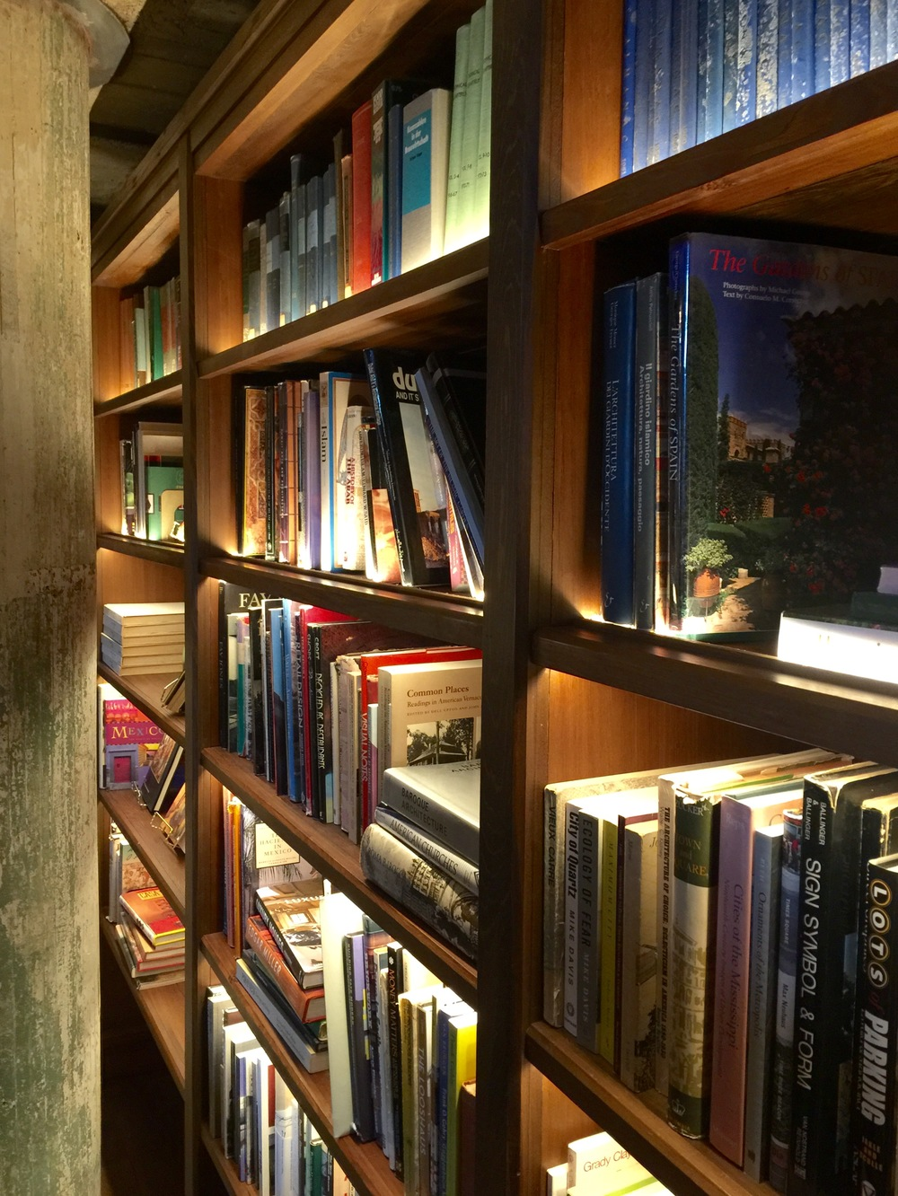 Bookshelves - The Library, Hotel Emma