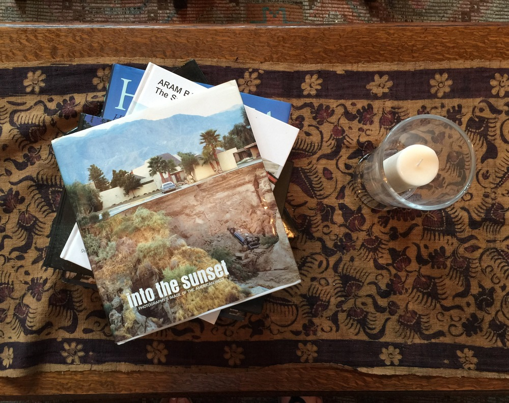 Books on coffee table - Hotel Emma Lobby