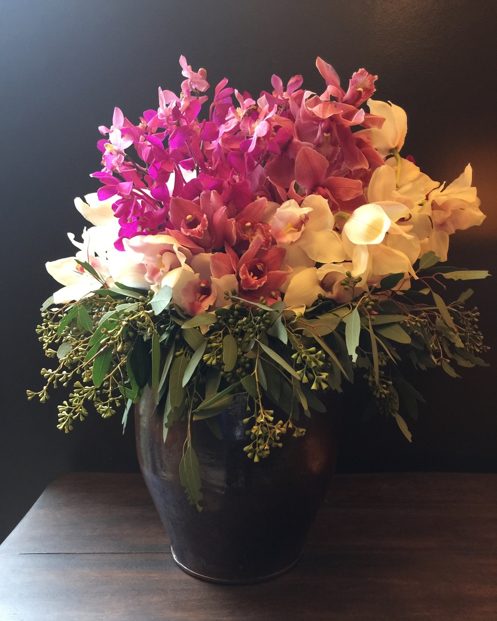 I've also done a post on all the fabulous flowers and books styled in the  Hotel Emma . You can check those stunning arrangements out  HERE .