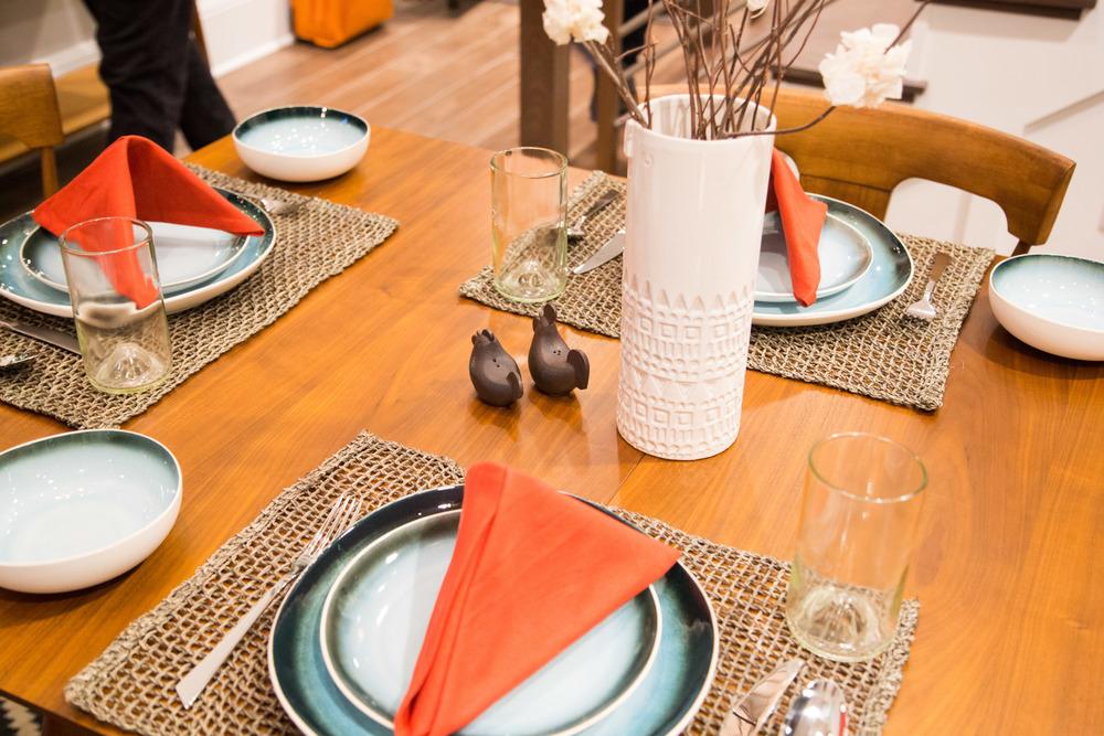 Tabletop styling | Interior Designer: Bobby Berk