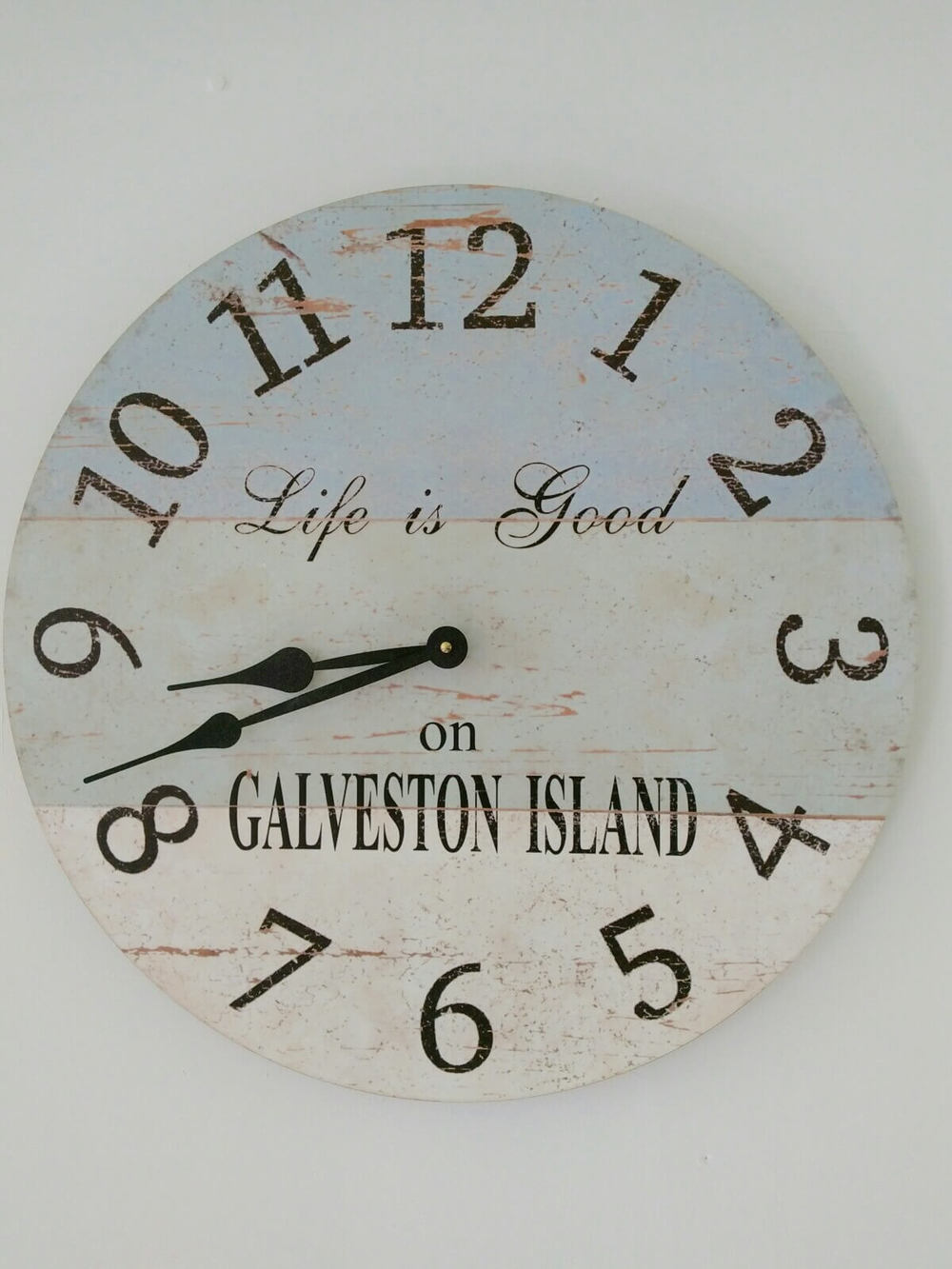 Kitchen Clock - Susan ordered this online and had it personalized with a message.
