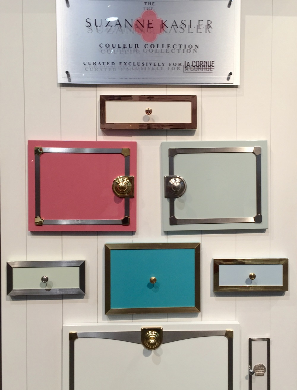 La Cornue, Suzanne Kasler Colors, debuted at KBIS2016