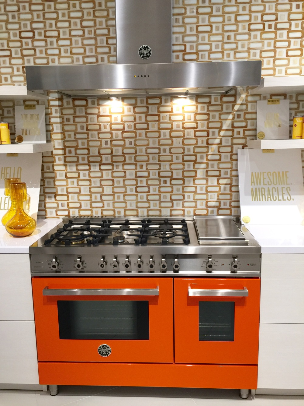 Bertazzoni Range - Perch Atlanta Showroom