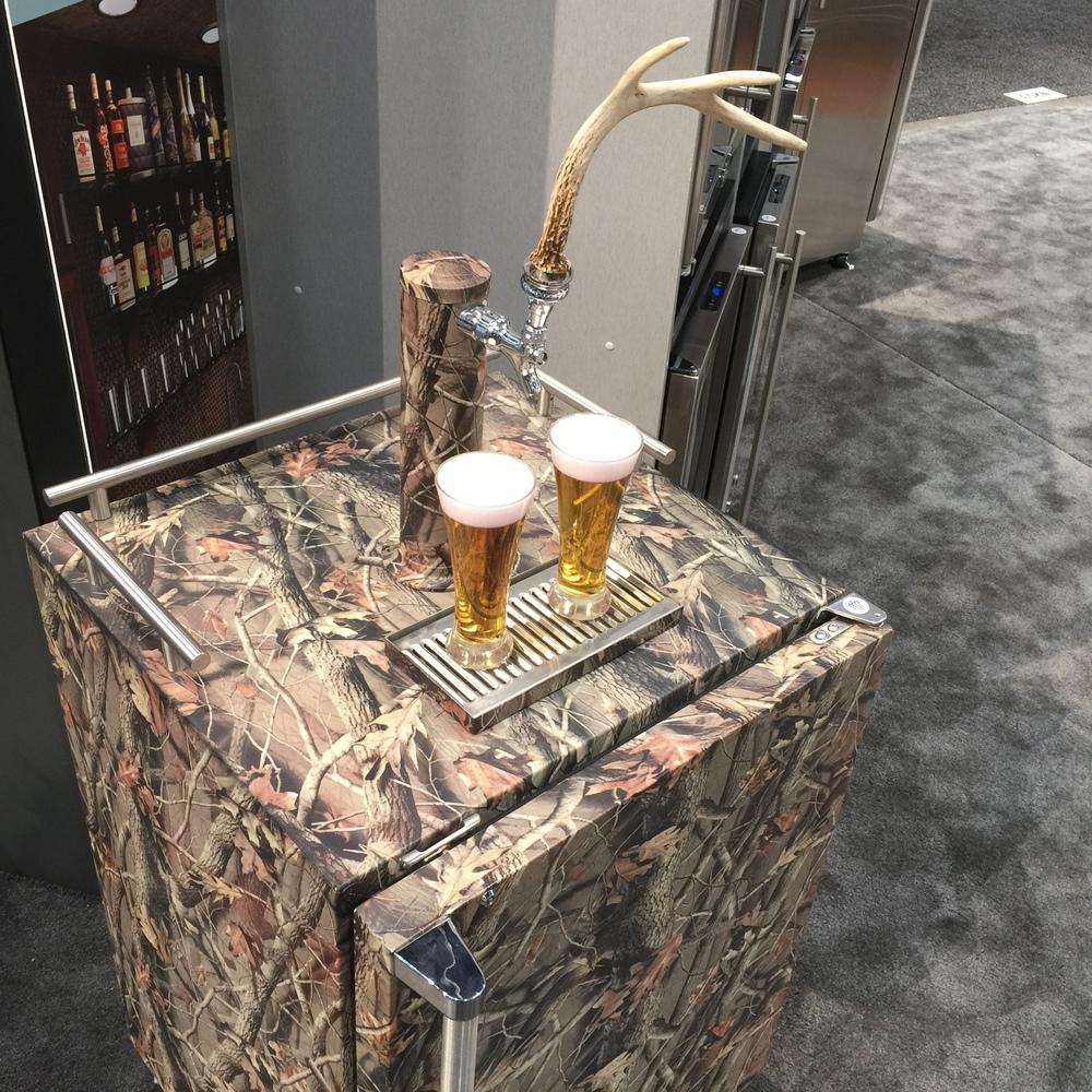 Keg refrigerator