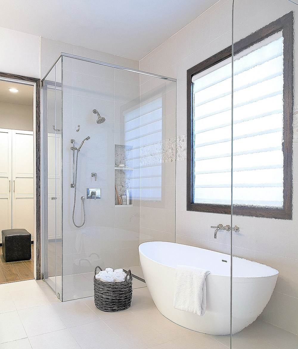 Top 10 Bathroom Design Trends Guaranteed To Freshen Up Your Home Designed: bathroom designs with separate tub and shower