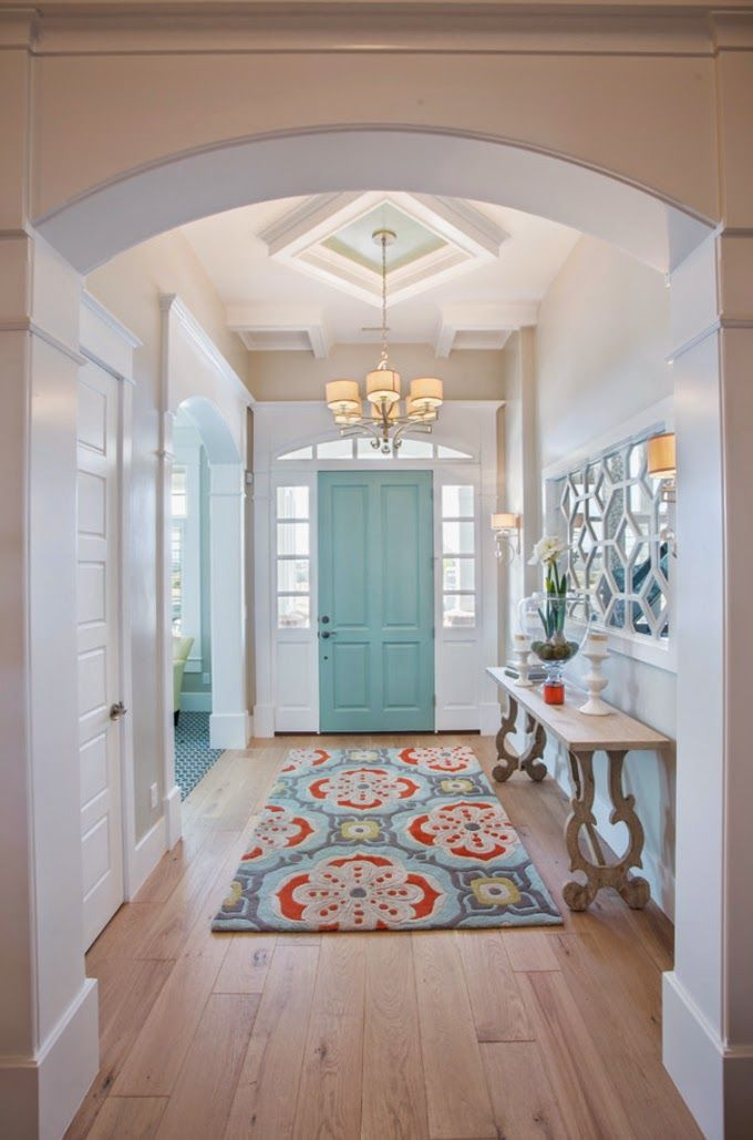 Beautifully Run Wood Flooring. Architect: Highland Custom Homes / Image  Source: House Of Turquoise