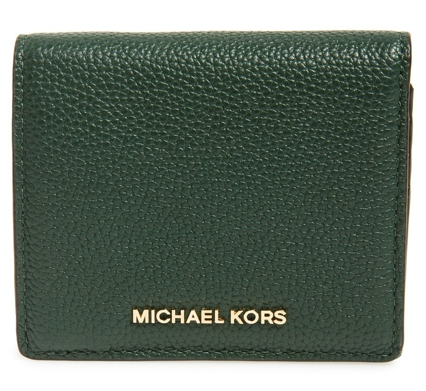 BUY NOW: 'Mercer' Leather Card Case @ Michael Kors