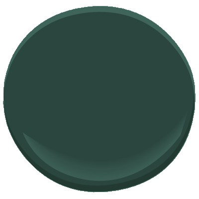 Hunter Green by Benjamin Moore