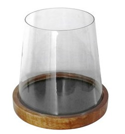 Modern hurricane candle holder, At Home stores