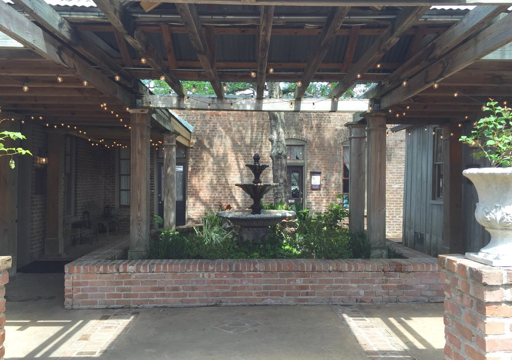 Before - Wedding Courtyard Makeover