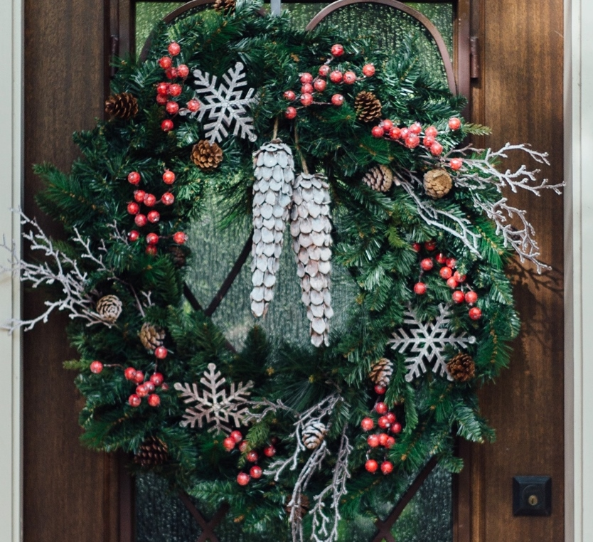 DIY Woodland Christmas Wreath - Carla Aston