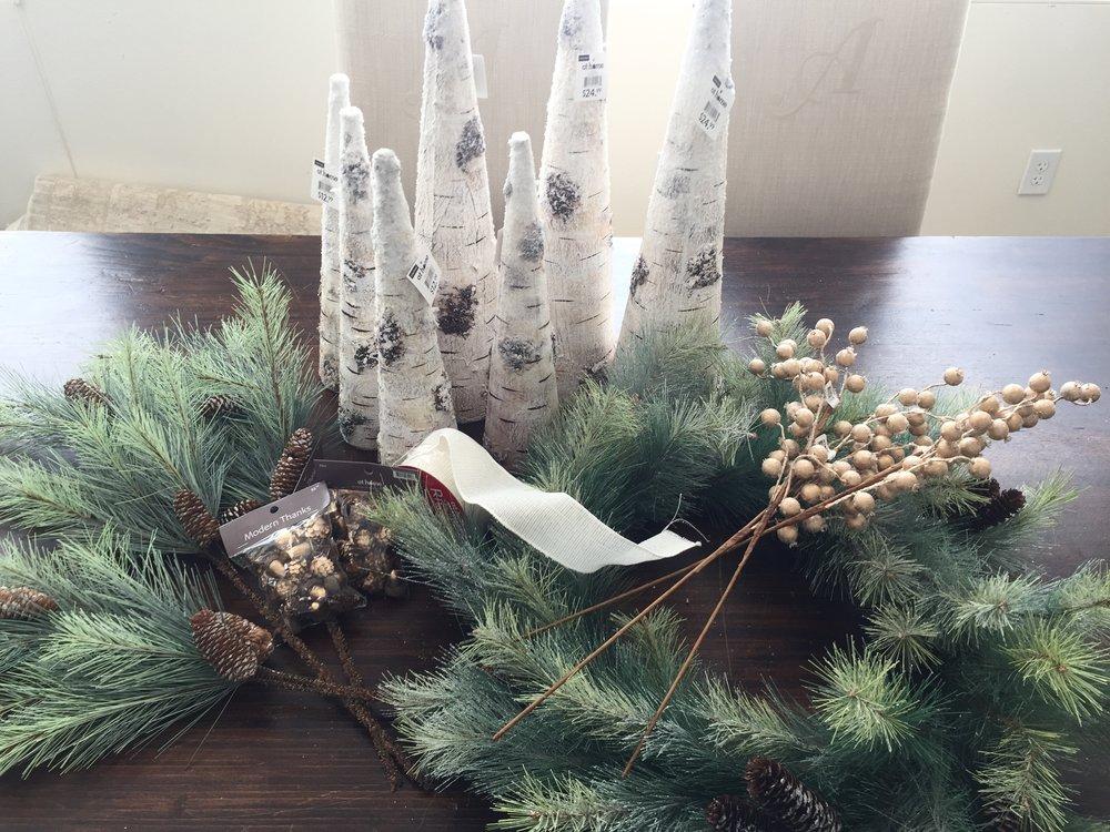 Decor purchases #christmasdecorating #christmasdecor