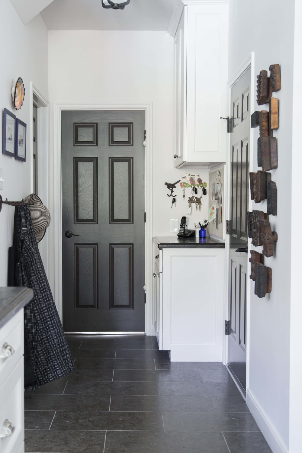 Before and After Kitchen Remodel, Mud room - Carla Aston, Designer - Tori Aston, Photographer