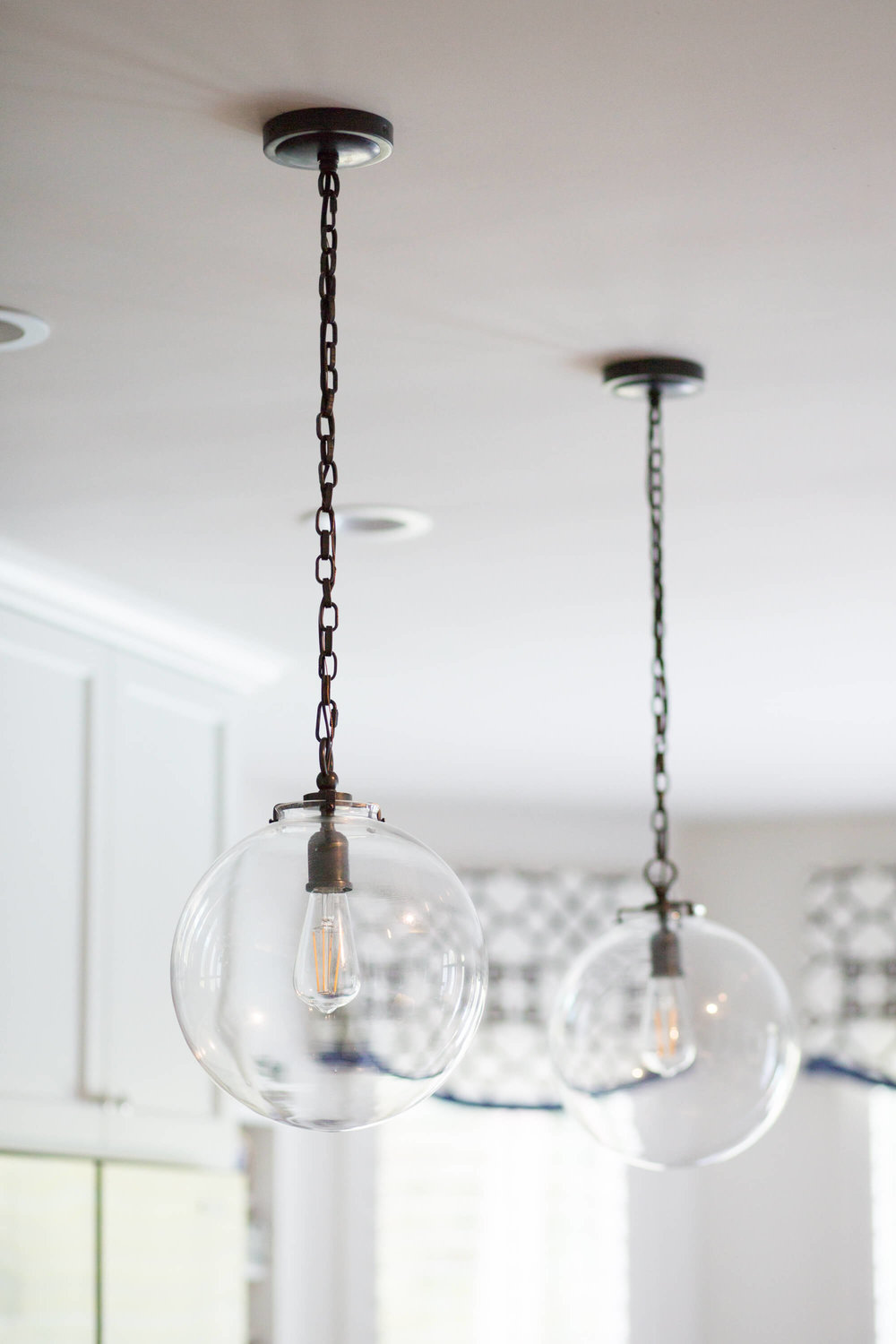 Circa Lighting Katie Pendants - Before and After Kitchen Remodel, Carla Aston - Designer, Tori Aston - Photographer