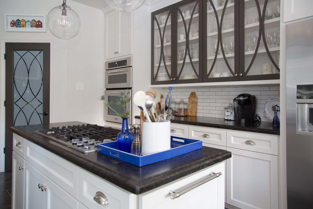 Before and After Kitchen Remodel - Carla Aston, Designer - Tori Aston, Photographer
